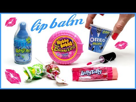 DIY Lip Balm! How To Make 5 Miniature Candy, Oreo & Bubblegum Lip Gloss DIYs! {Easy} Makeup Projects