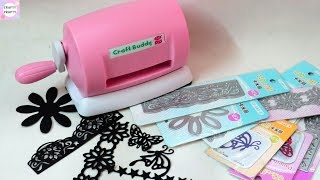 Unboxing Craft Buddy Mini Die Cutting Machine For Scrapbooking and Explosion Box