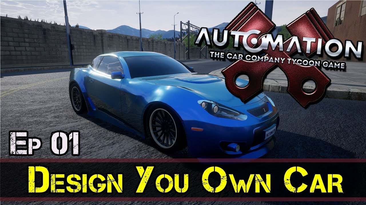 Design Your Own Car >> Design Your Own Car Automation Game E1 Z One N Only