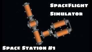 SpaceFlight Simulator Docking and Space Station #1