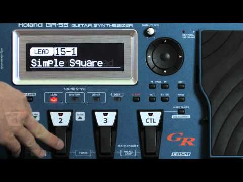 Roland GR-55 Guitar Synthesizer : Lead Patches