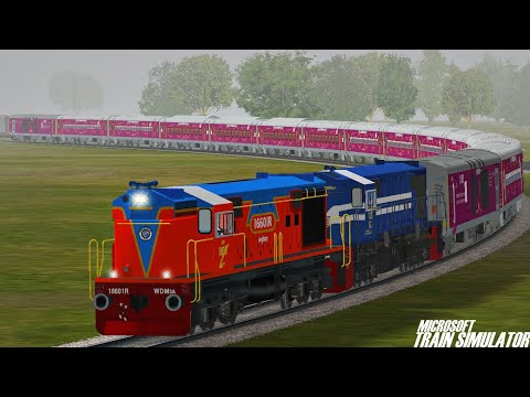 Loco Failed of Pilgrims Special Train Rescue in MSTS Open Rails | Journey Part 1