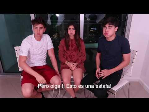 TRY NOT TO LAUGH CHALLENGE  NICOLE GARCIA, JOHANN VERA, LA DIVAZA.