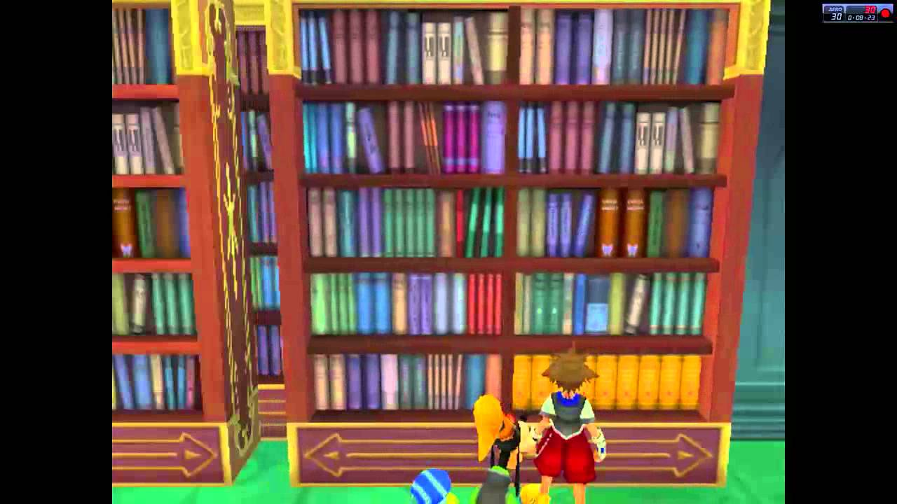 Let39s Play Kingdom Hearts 60 Bookshelf Puzzle In