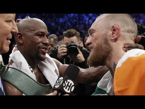 MMA respect moments | Conor McGregor , Khabib Nurmagomedov , Floyd Mayweather