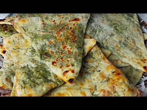 Bolani Oven Recipe (Tandoori) | بولانی تنوری