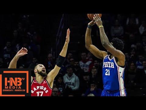 Toronto Raptors vs Philadelphia Sixers Full Game Highlights / Jan 15 / 2017-18 NBA Season