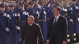 Владимир Путин ба Президенти Сербия ҷоиза тақдим кард