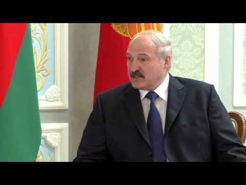 Александр Лукашенко и Президент Узбекистана Ислам Каримов 10.10.2014, Минск