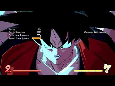 Base Goku lvl 3 DHC with Vegeta/Kid Buu