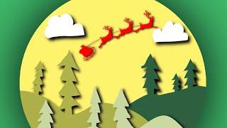 Procreate : 10 | Santa Reindeer Scene