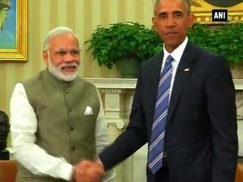 PM Modi meets U.S. President Obama (Part 1) - ANI News