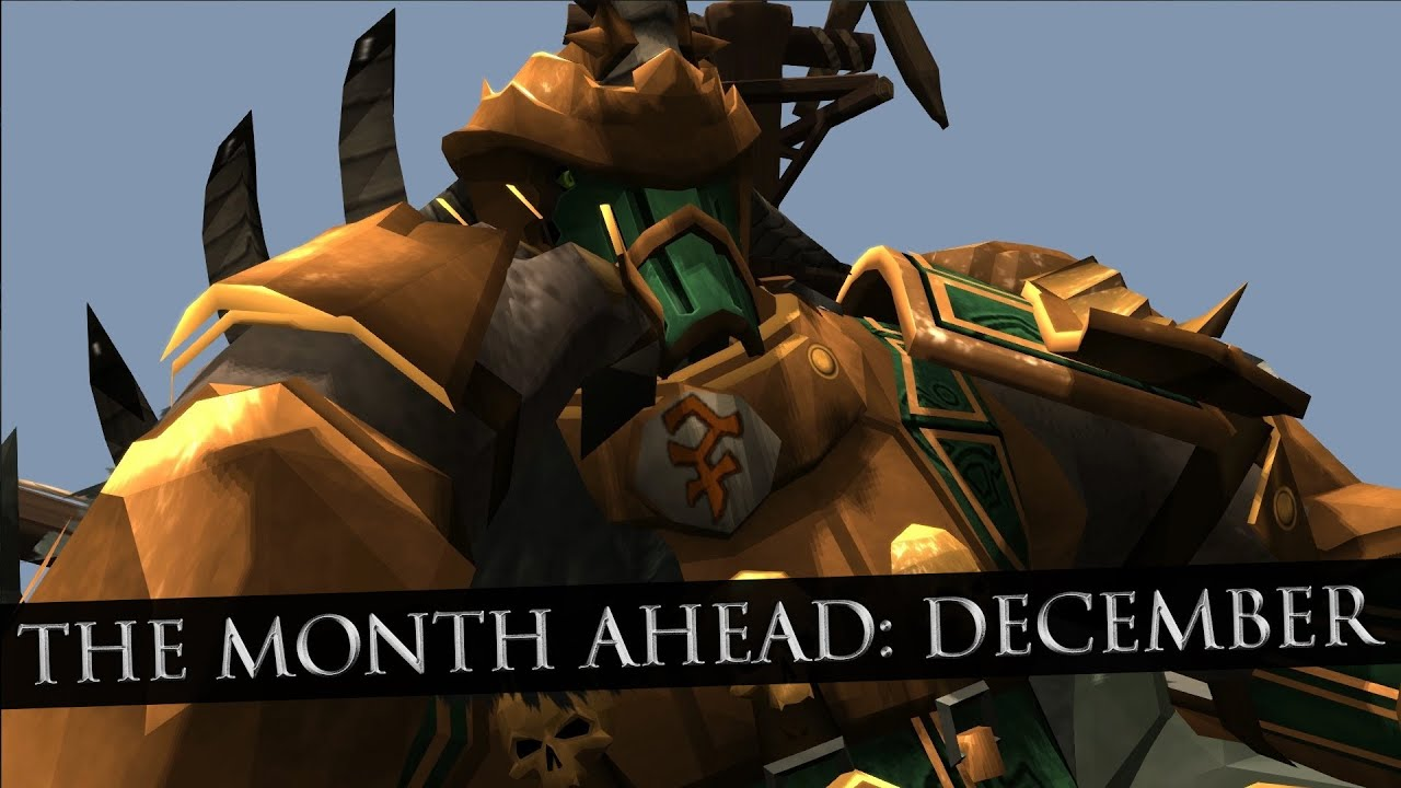 6949f7dd7e783 RuneScape Behind the Scenes  81 - The Month Ahead - December - YouTube