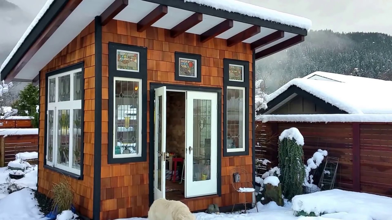 Virtual Tour Of My Quot She Shed Quot Youtube