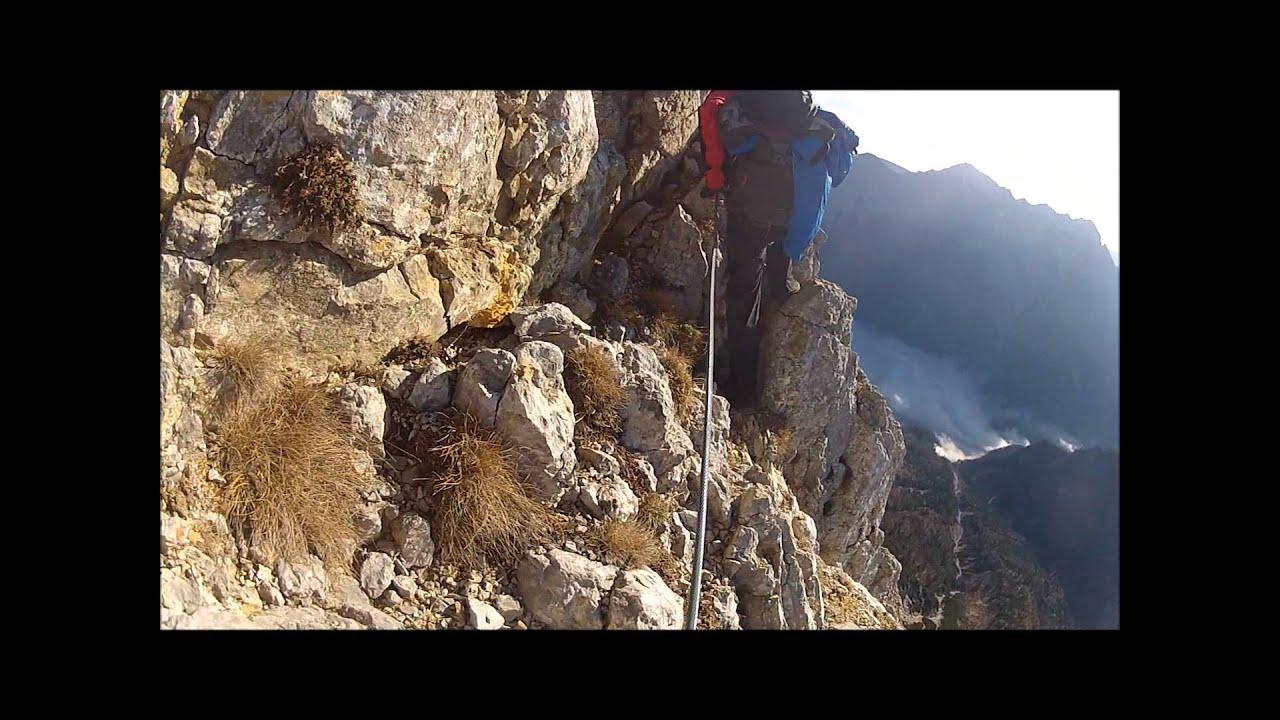 Klettersteig Buchstein : Großer buchstein m südwandband gesäuse youtube