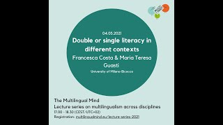 Costa & Guasti: Double or single literacy in different contexts