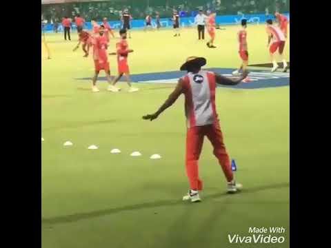Dancer Gayle on action