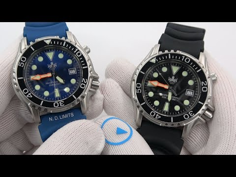 Phoibos Ocean Master 1000 Diver - Best Quartz Diver Under $200?