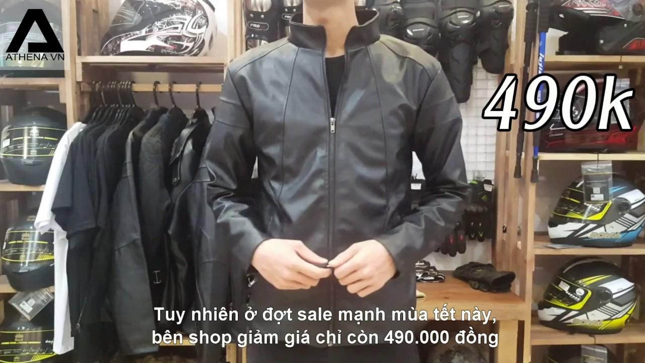 Review áo khoác da cao cấp Thái Lan của Athenavn