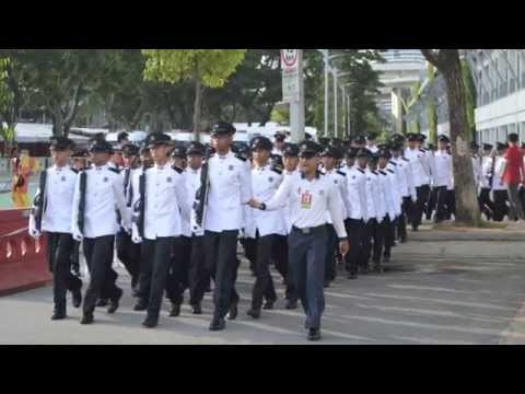 SPF - Guard of Honour NDP14 Montage (HD)