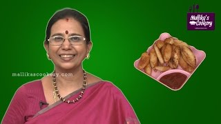 Idli Finger Chips | Mallika Badrinath Cookery | Kids special