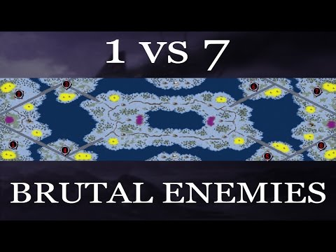 1VS7 BRUTAL ENEMIES // Command and Conquer