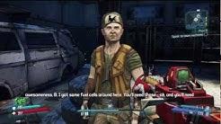 Borderlands 2 Axton Walkthrough / Gameplay Part Three: OMG 3 WEAPON SLOTS