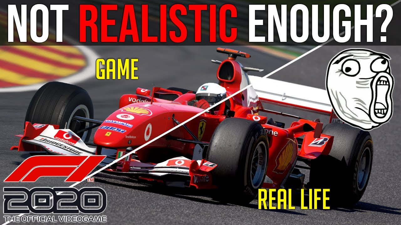 Formula 1 vs Sim Racing a test that needs to be done