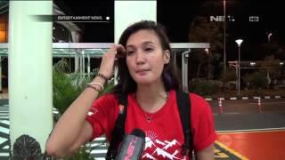 Nadine Chandrawinata Berangkat ke Gunung Cartenz