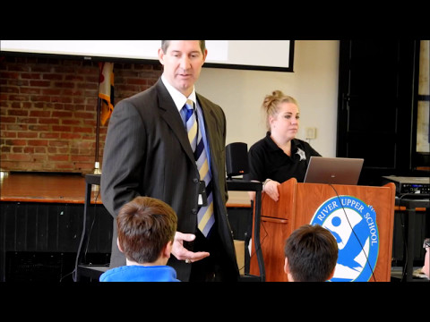 Queen Anne's County State's Attorney Visits Wye River Upper School