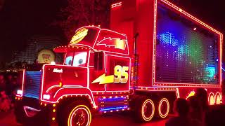 PAINT THE NIGHT FULL PARADE at Disney California Adventure in Anaheim 2018 || Keith