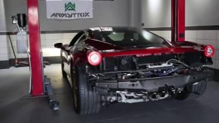 Ferrari 458 Italia | Armytrix Système Echappement VALVETRONIC | moteurs sons & bruit!