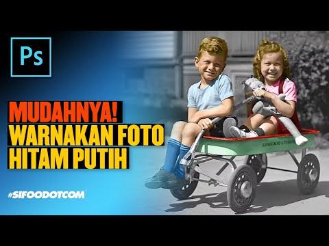 Tutorial Photoshop Malaysia: Teknik Mudah Mewarnakan Foto Hitam Putih