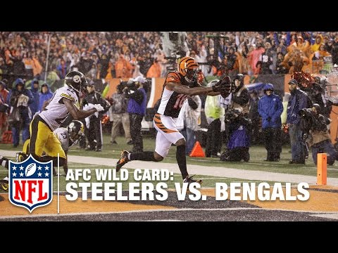 AJ McCarron to A.J. Green for the TD & Lead! | Steelers vs. Bengals | NFL
