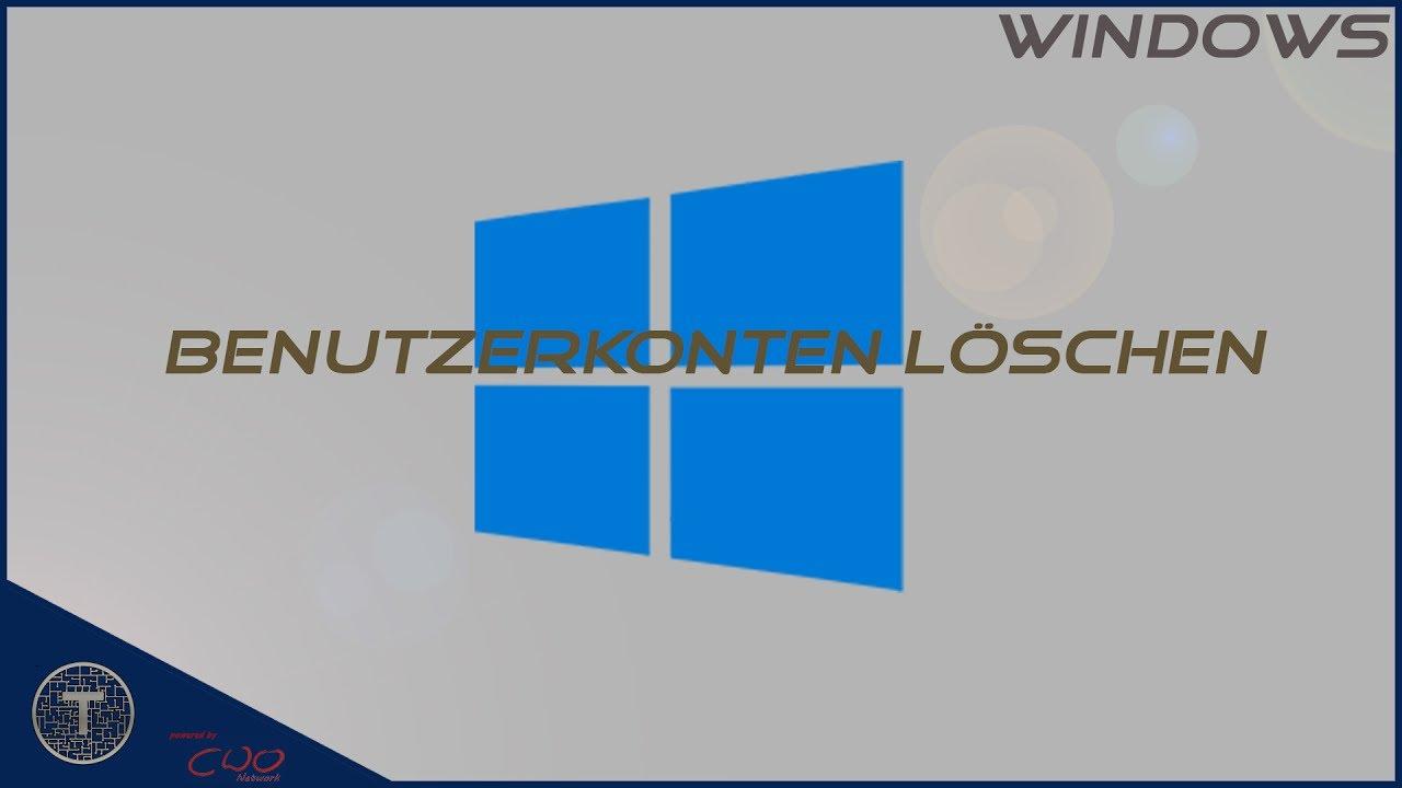 Ausgegraut benutzerprofil windows 10 löschen Windows 10