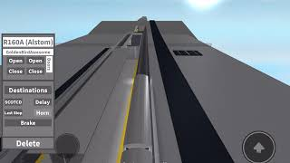 Roblox railfanning season: STS R160A to Mario st Luigi hills
