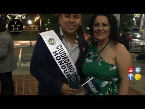 Martin Ortiz Reconocimiento como Ciudadano Distinguido de Honduras Reportaje Golden Star Radio