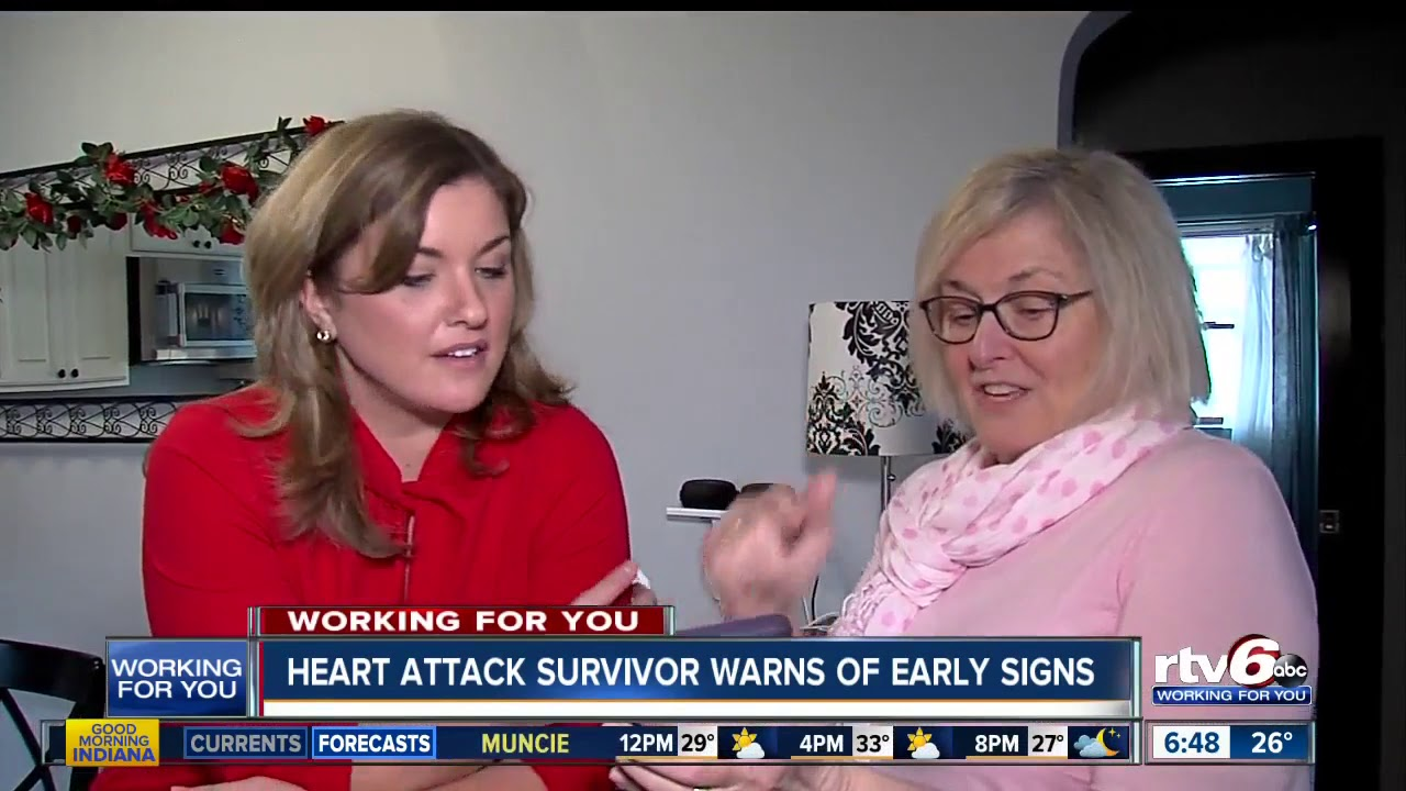 Go Red for Women: Heart attack survivor warns of early signs thumbnail