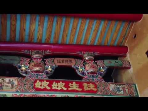 Visiting Cheng Huang Temple in Hsinchu, Taiwan