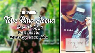 Tere Bina Jeena Saza Ho Gya | Heart Touching | Full Screen | WhatsApp Status Video || PH Creation.