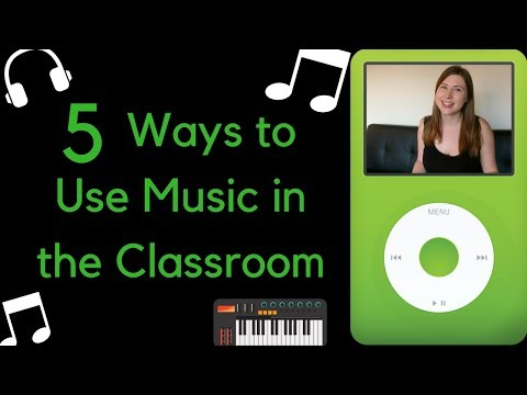 5 Ways To Use Music In Your Class | Teaching Tips