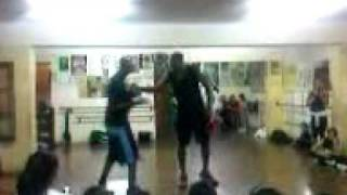 Very tall men dancing -LOW- They are 2meters tall.3gp