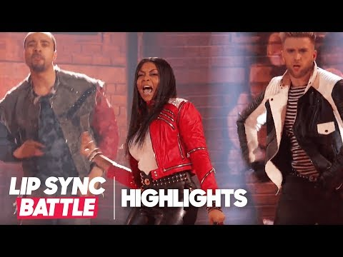 "Tarji P. Henson's ""Beat It"" Highlights  Lip Sync Battle Live: A Michael Jackson Celebration"
