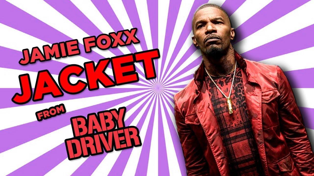 a9603c0fe Baby Driver Bats Jamie Foxx Jacket