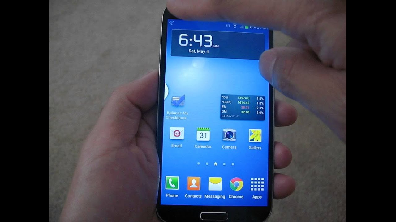 Mobile S4 Phone Galaxy T