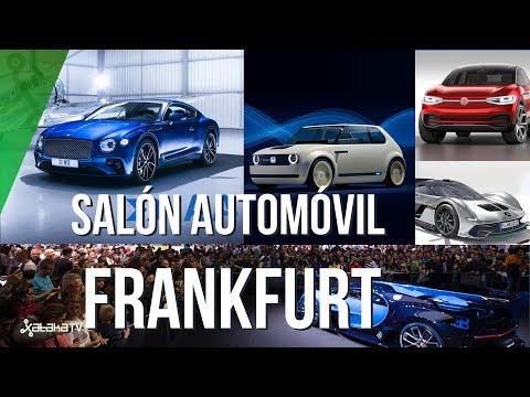 IAA Frankfurt 2017: El futuro es el eléctrico no el coche volador
