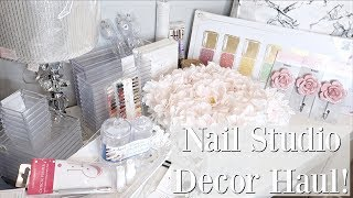 Nail Studio Decor Haul!