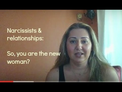 The narcissists new woman
