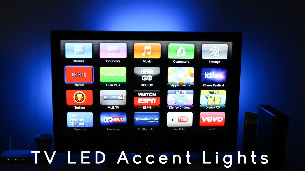 Led Home Theater And Tv Accent Lights