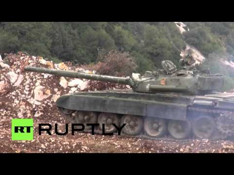 RAW: Syrian Army goes on offensive in Latakia